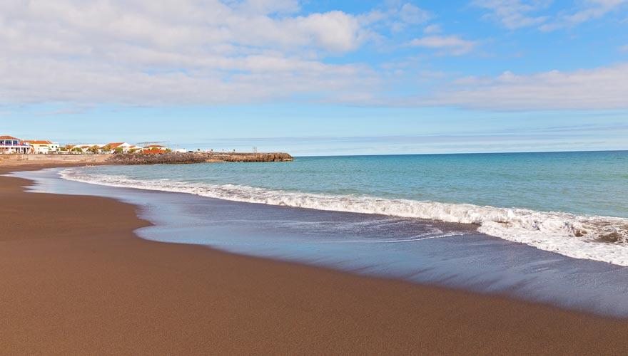 Der Praia de Fogo gehört zu den schönsten Stränden auf den Inseln der Azoren