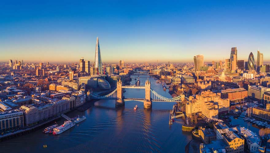 Londons berühmteste Brücke: die Tower Bridge