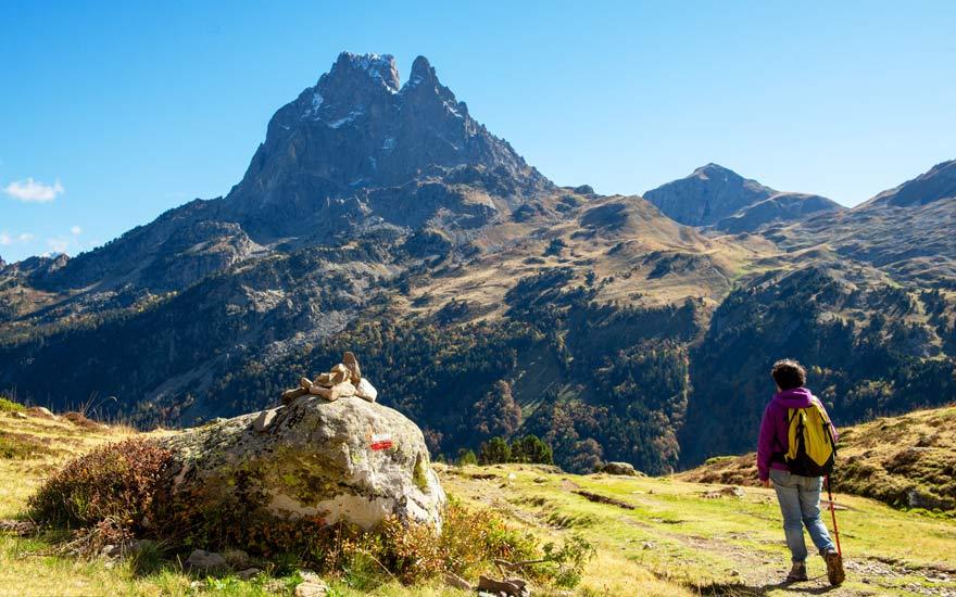 Pyrenäen auf dem Jakobsweg Via Tolosana in Frankreich