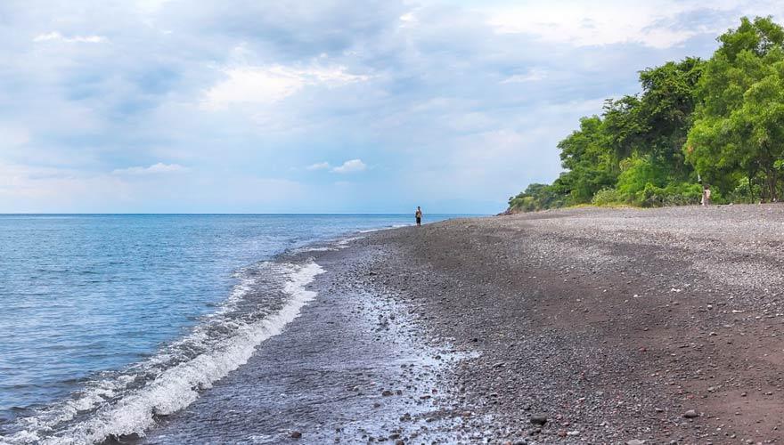 Einer der schönsten Strände auf Bali ist der Amed Beach