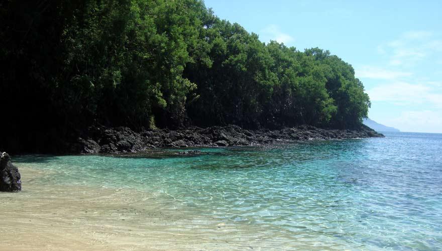 Der Blue Lagoon Beach in Padangbai ist ein sehr schöner Strand auf Bali