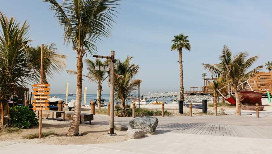 Eine neue Sehenswürdigkeit ist das La Mer Dubai