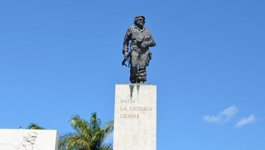 Kuba-Rundreise Tipp: Besucht in Santa Clara das Monumente Memorial Che Guevara
