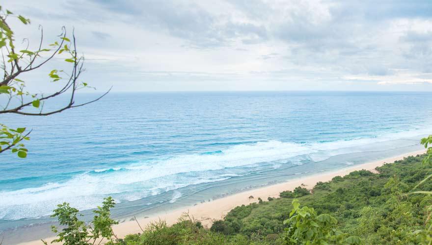 Der Nyang Nyang Beach ist ein toller Strand auf Bali zum Schnorcheln