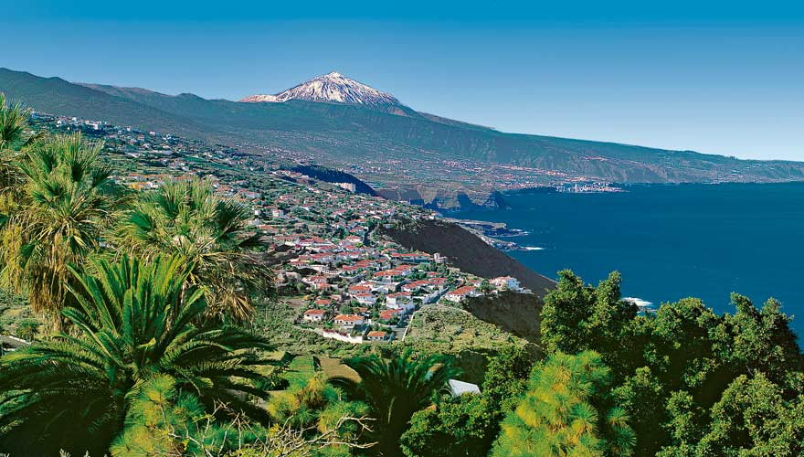 Eine besonders schöne Wanderung auf Teneriffa lässt euch aufs Orotava-Tal blicken