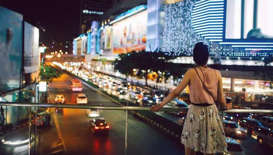 Der Siam Square bietet viele Shoppingmöglichkeiten in Bangkok
