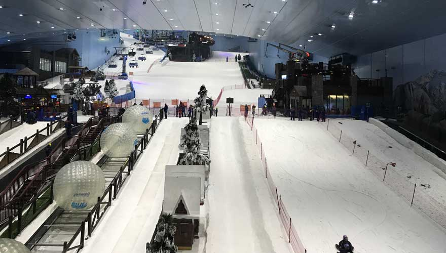 Skihalle in der Mall of the Emirates - auf jeden Fall sehenswert in Dubai