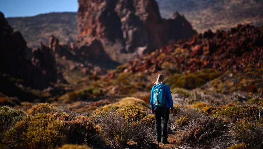 Wandern im Teide Nationalpark auf Teneriffa