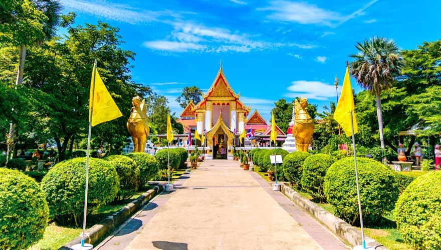 Tempel Wat Thai auf Koh Kret bei Bangkok - immer einen Besuch wert!