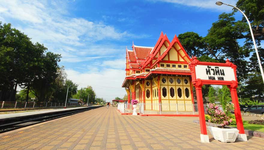 Historischer Bahnhof von Hua Hinn