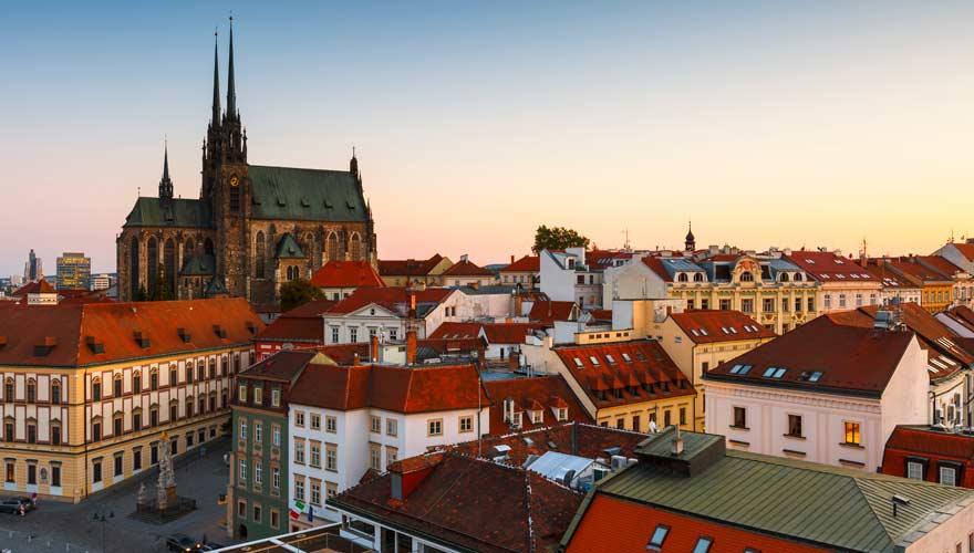 Die tschechische Stadt Brno