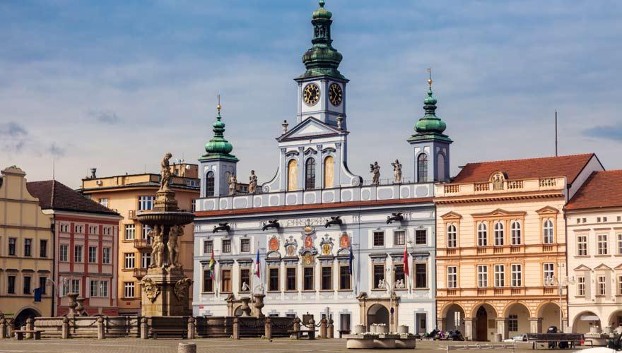 Die Geburtstadt eines der berühmtesten Biere der Welt ist die schöne Stadt Ceske Budejovice in Tschechien