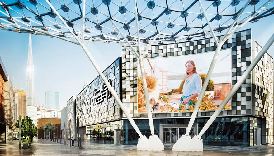 Dubai City Walk - ein echter Geheimtipp in Dubai, wenn ihr mal so richtig shoppen wollt