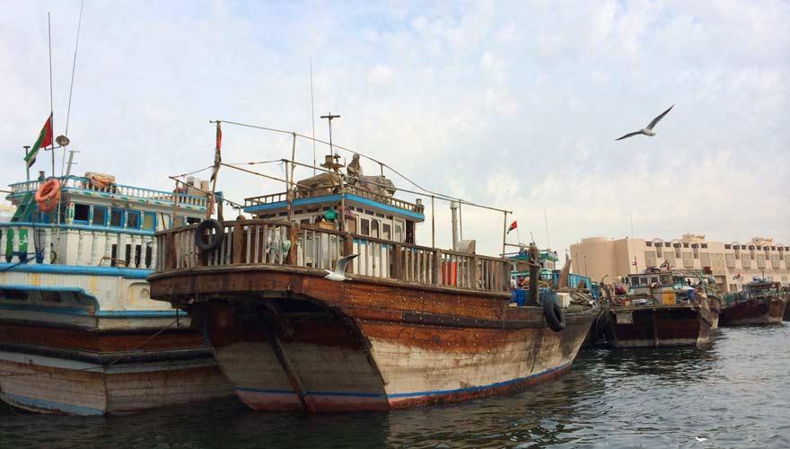 Besucht den Dubai Creek