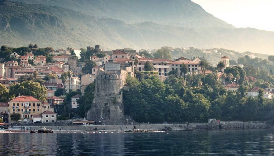 Blick auf Herceg Novi