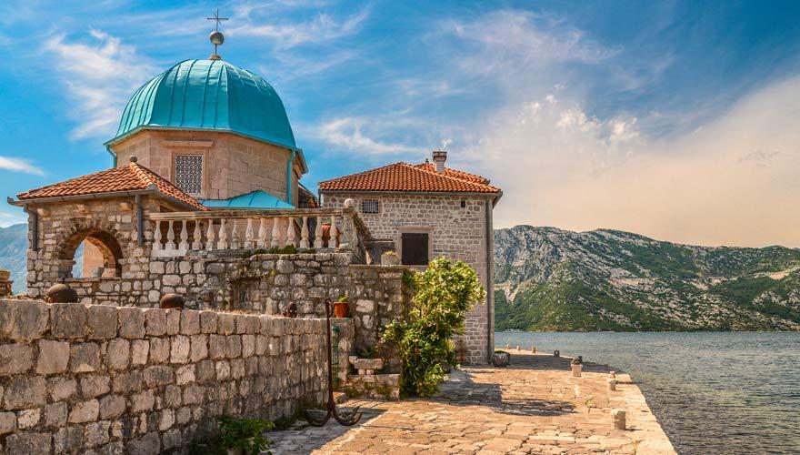 Die Kirche Marija Bistrica in Perast