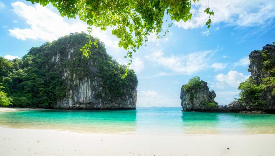 Lagune auf der thailändischen Insel Koh Muk