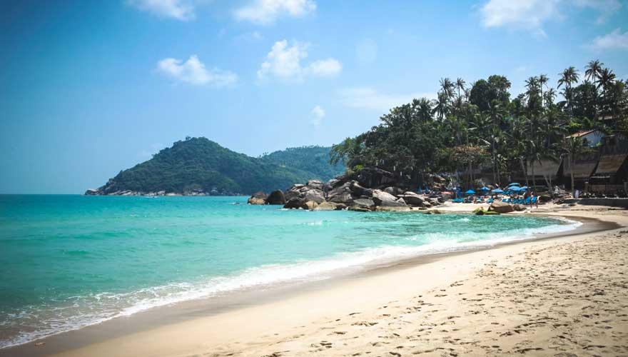 Thong Nai Pan Noi Beach auf der thailändischen Insel Koh Phangan