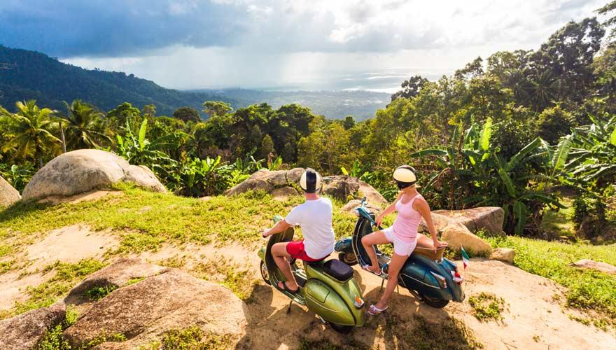 Aussichtspunkt auf Koh Samui in Thailand