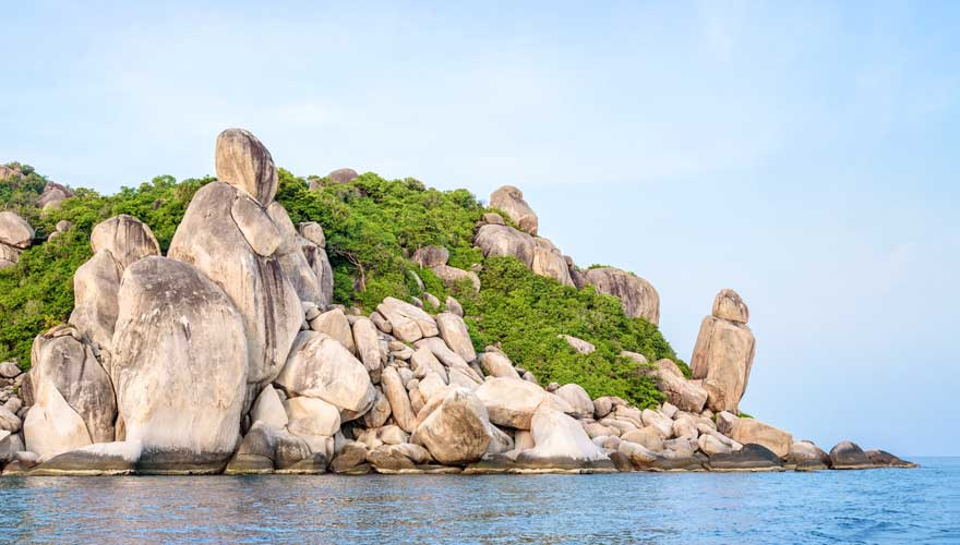 Koh Tao zählt zu den schönsten thailändischen Inseln
