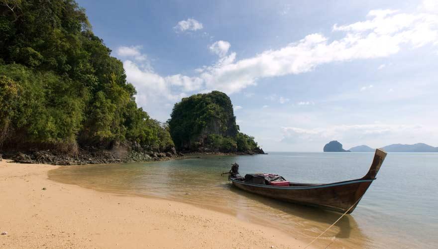 Strand auf der thailändischen Insel Koh Yao Yai