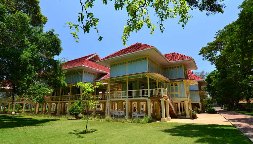 Die Sommerresidenz des Königs, das Mrigadayavan Palace, ist eine tolle Sehenswürdigkeit in Hua Hin