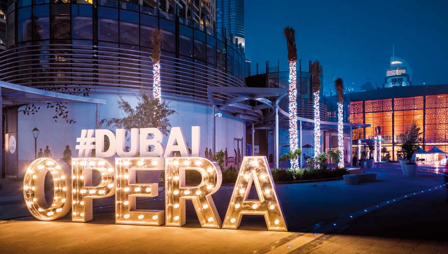 Die Dubai Opera ist ein echter Tipp für alle Dubai-Urlauber