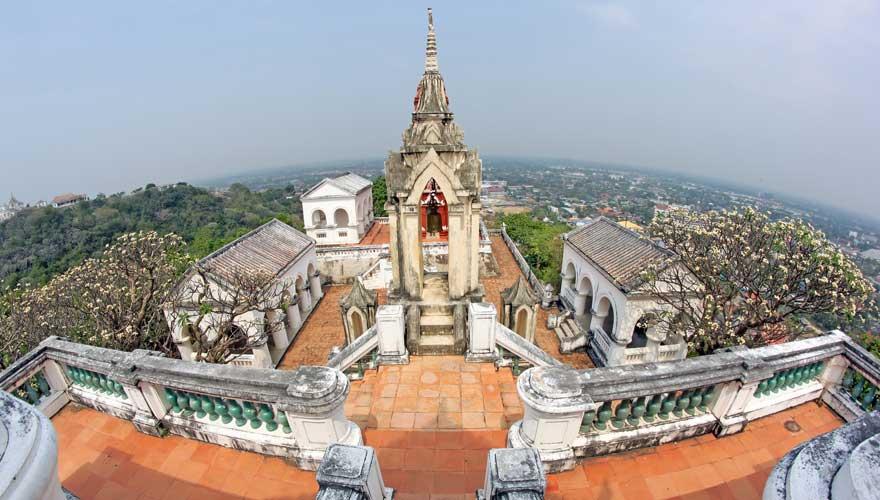 Ein toller Ausflug von Hua Hin ist zum Phra Nakhon Khiri in Phetchaburi