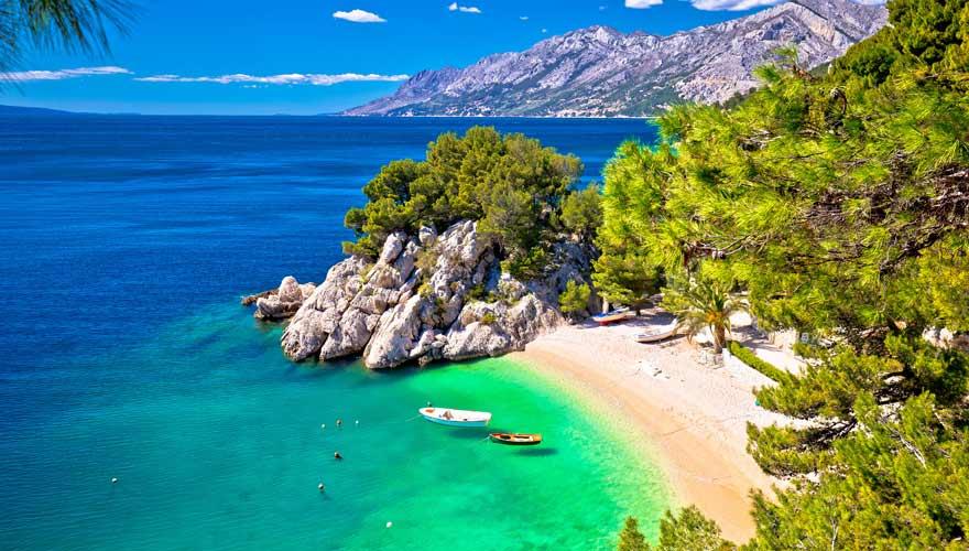 Punta Rata in Kroatien - nicht nur einer der schönsten Strände Kroatiens, sondern weltweit