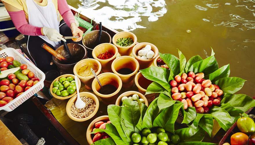 Der Floating Market Sam Phan Nam in Hua Hin ist auf jeden Fall einen Besuch wert