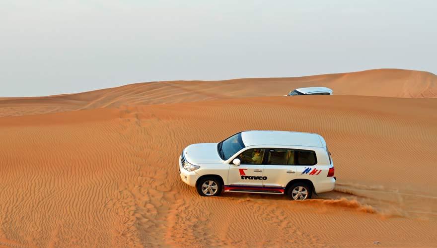 Wüstensafari in Dubai - ein echter Geheimtipp