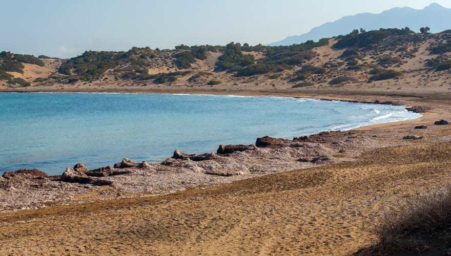 Alagadi Turtle Beach, Strand auf Zypern