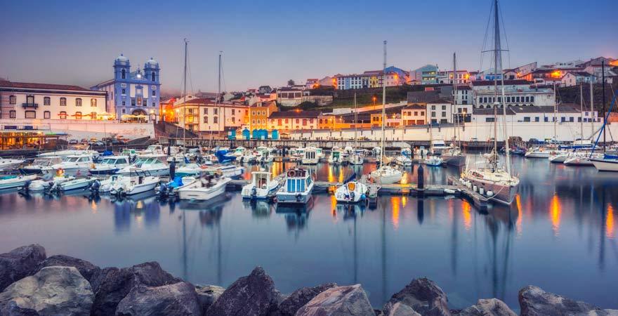 Die Hauptstadt von Terceira, Angra do Heroismo