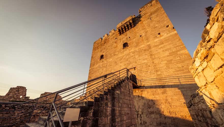 Die Burg Kolossi auf Zypern vermittelt einen guten Eindruck vom Leben zu früheren Zeiten