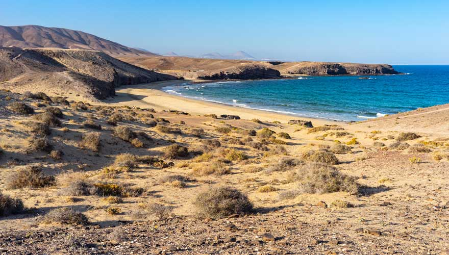 Caleta del Congrio bei Playa Blanca, Lanzarote