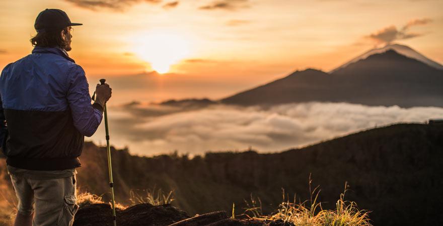 Eine Wanderung auf den Gunung Batur lohnt sich sehr