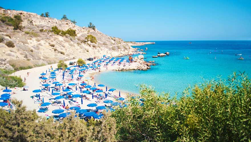 Eine echter Traumstrand auf Zypern: Konnos Beach