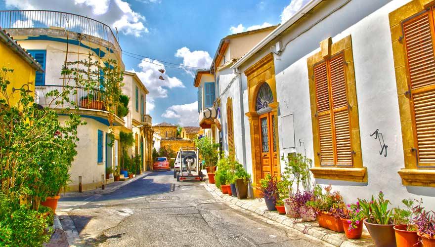Die Altstadt von Nikosia auf Zypern ist sehr sehenswert