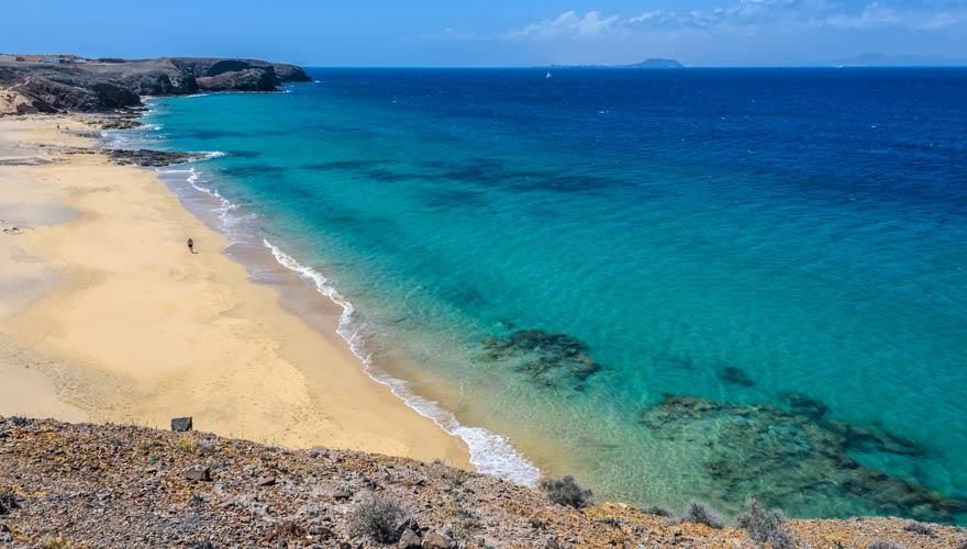 Playa del Pozo auf Lanzarote