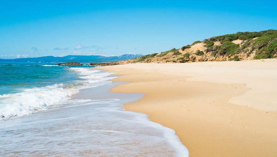 Spiaggia di Scivu - einer der schönsten Strände auf Sardinien