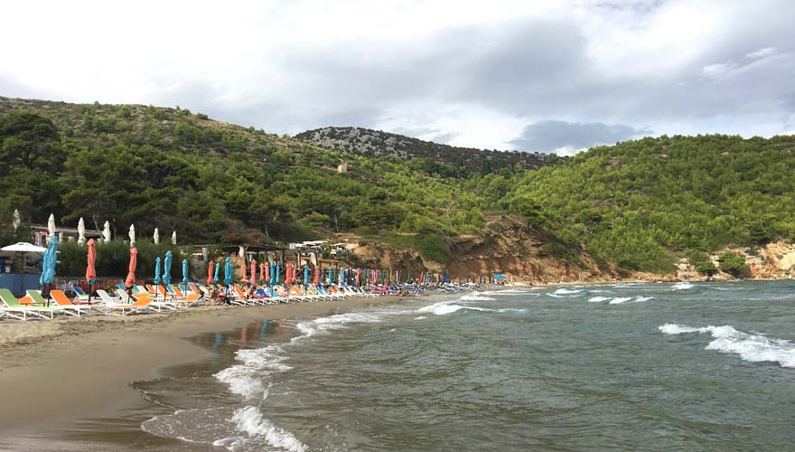 Strand von Sunj nahe Dubrovnik