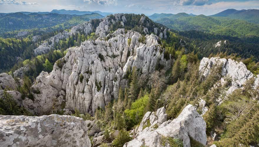 Bijele Stijene in Kroatien