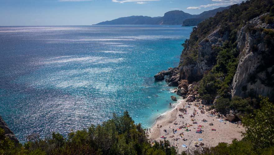 Wanderung zur Cala Fuili auf Sardinien