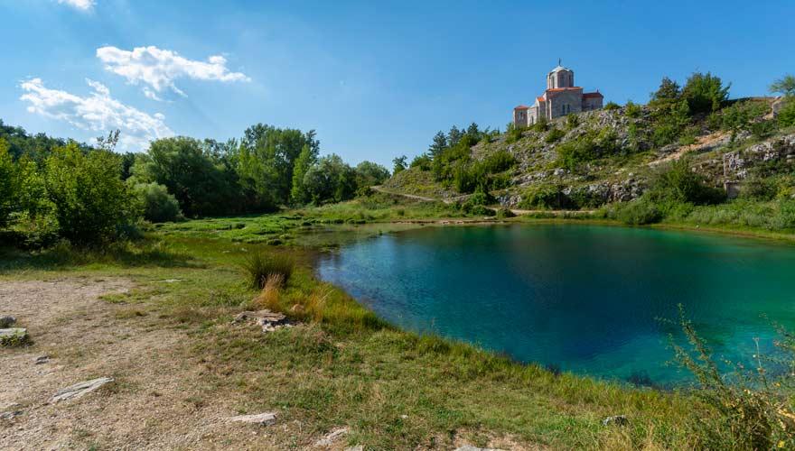 Quelle der Cetina in Kroatien