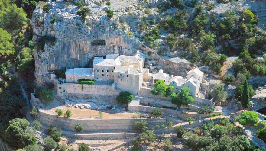 Das Klostermuseum Blaca in Kroatien