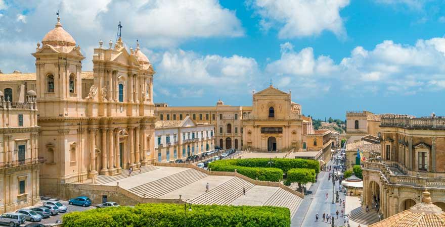 San Nicolo in Noto, Sizilien