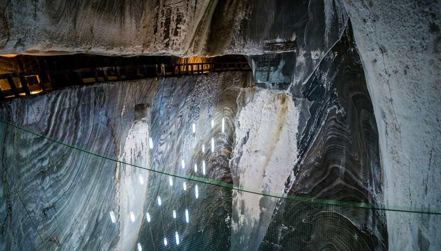 Das Salzbergwerk Salina Turda in Rumänien