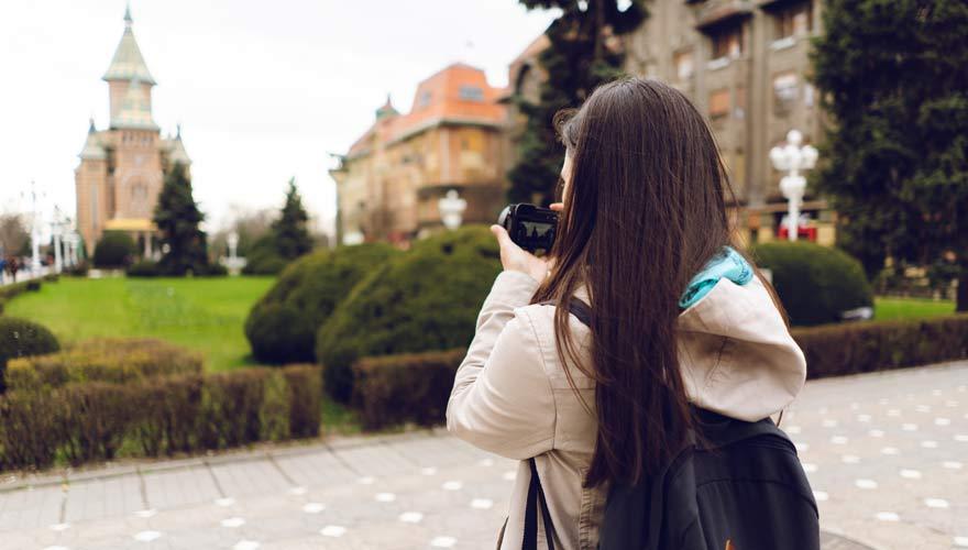 Sightseeing in Timisoara, Rumänien