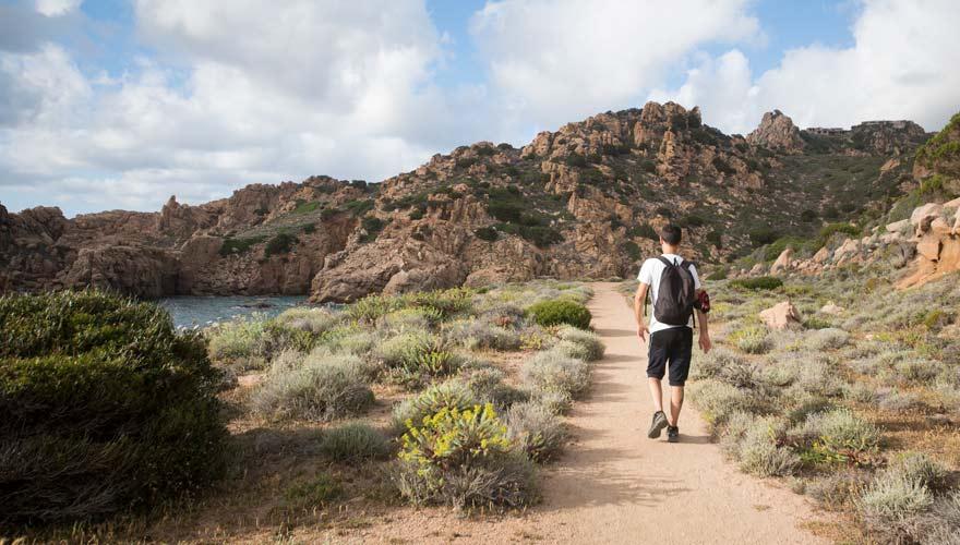 Wanderer auf Sardinien