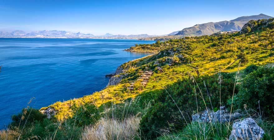 Zingaro Naturreservat auf Sizilien